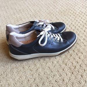 Ecco Black Sneakers 38